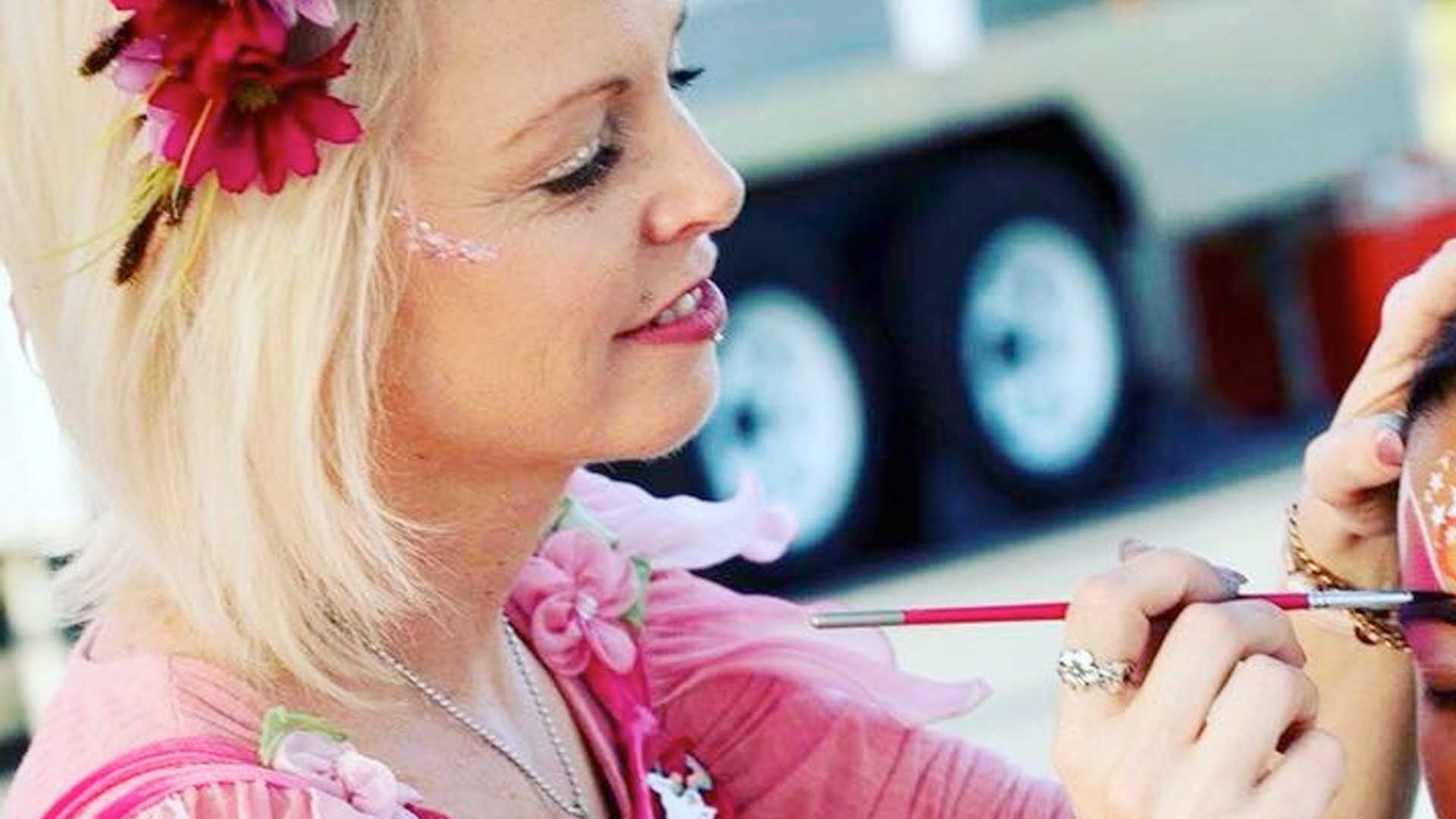 Free Kids Face Painting with Miss Fairy