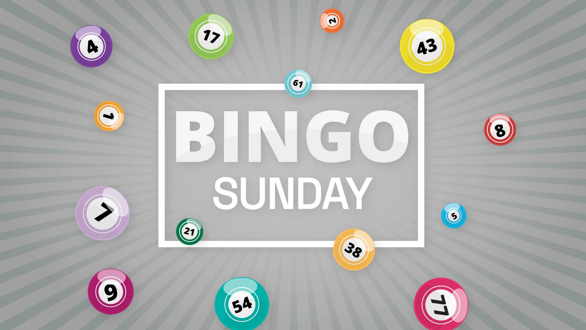 BINGO - Sunday Night