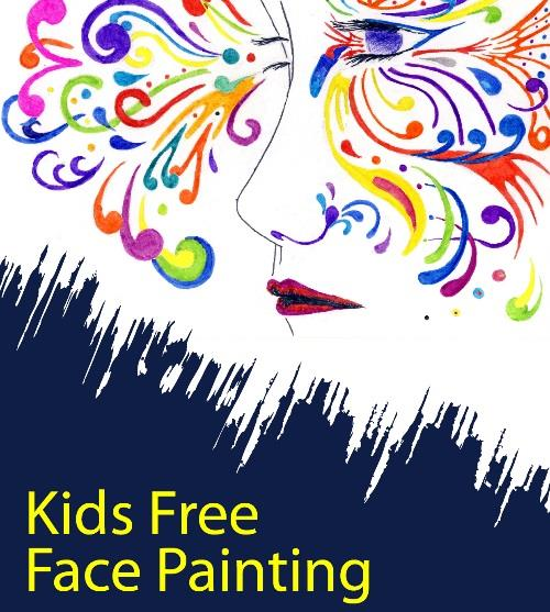 Free Kids Face Painting with Katie.