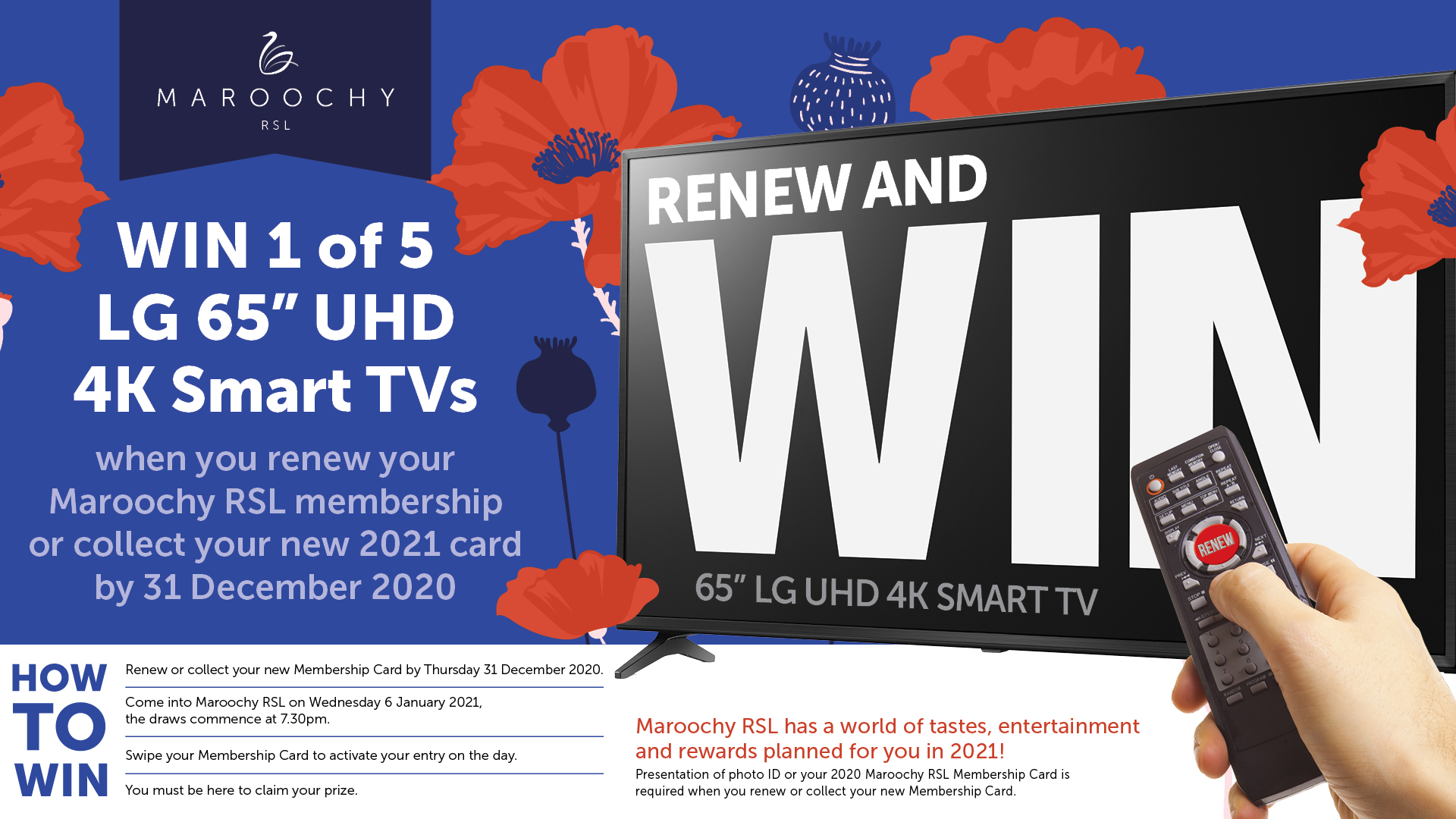 Renew and WIN!
